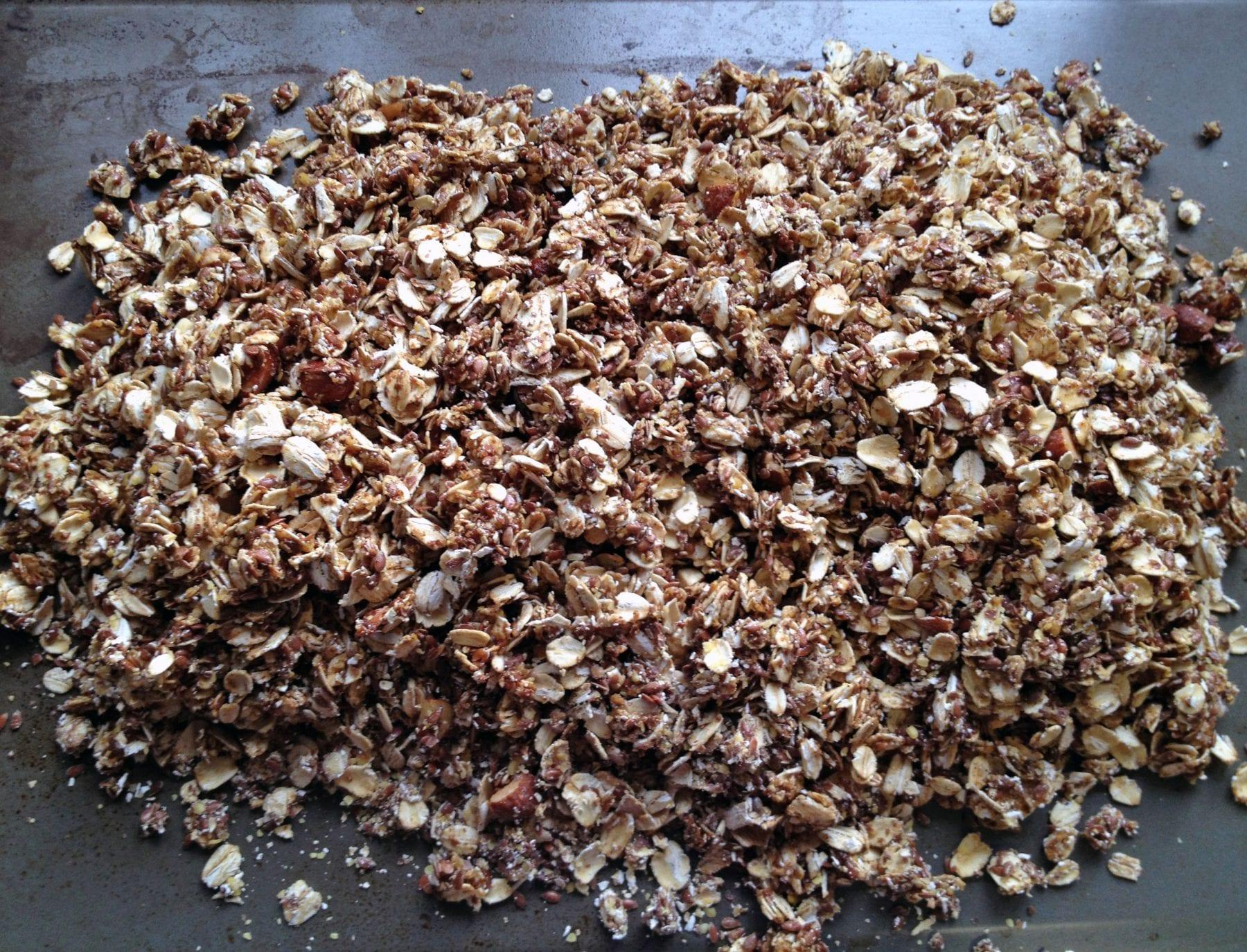 Simple Maple Flax Granola