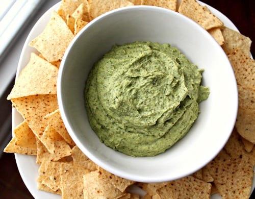 Green Garbanzo Beans Hummus