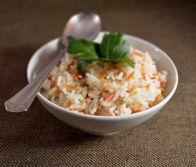 Rice Pilaf with Toasted Orzo
