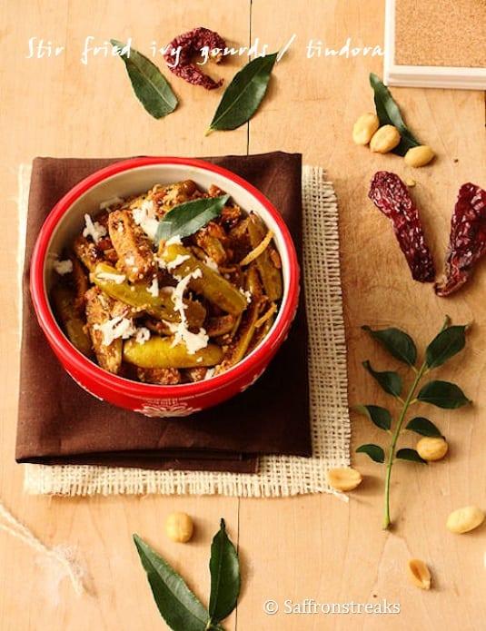 Stir Fried Ivy Gourd