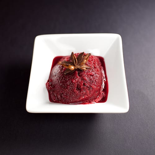 Blackberry and Aniseed Sorbet