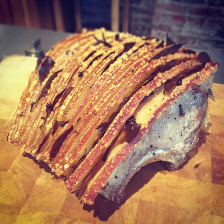 Flæskesteg - Danish Roast Pork
