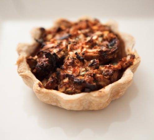 Spiced Mushroom Tart