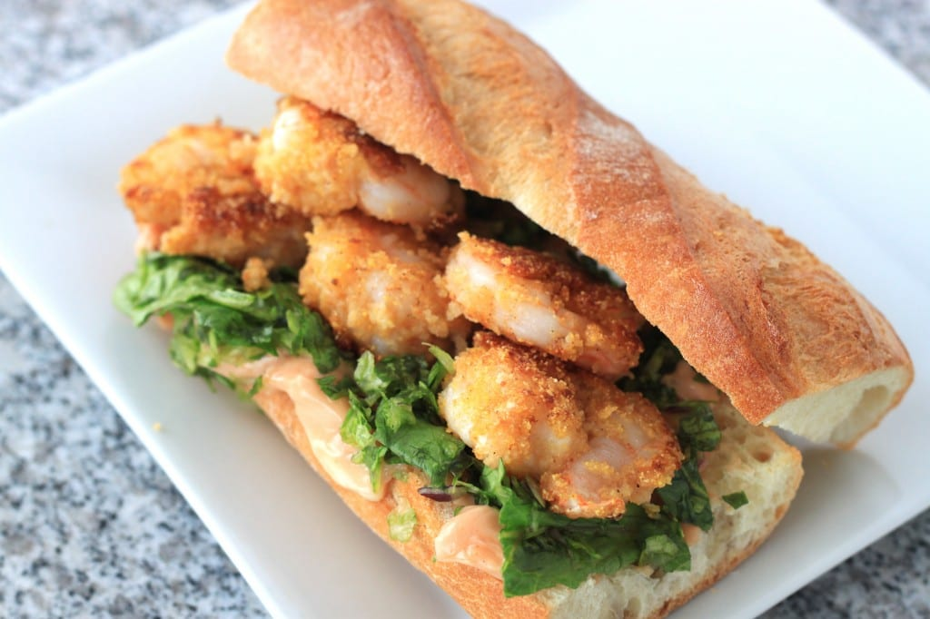Image result for shrimp poboy