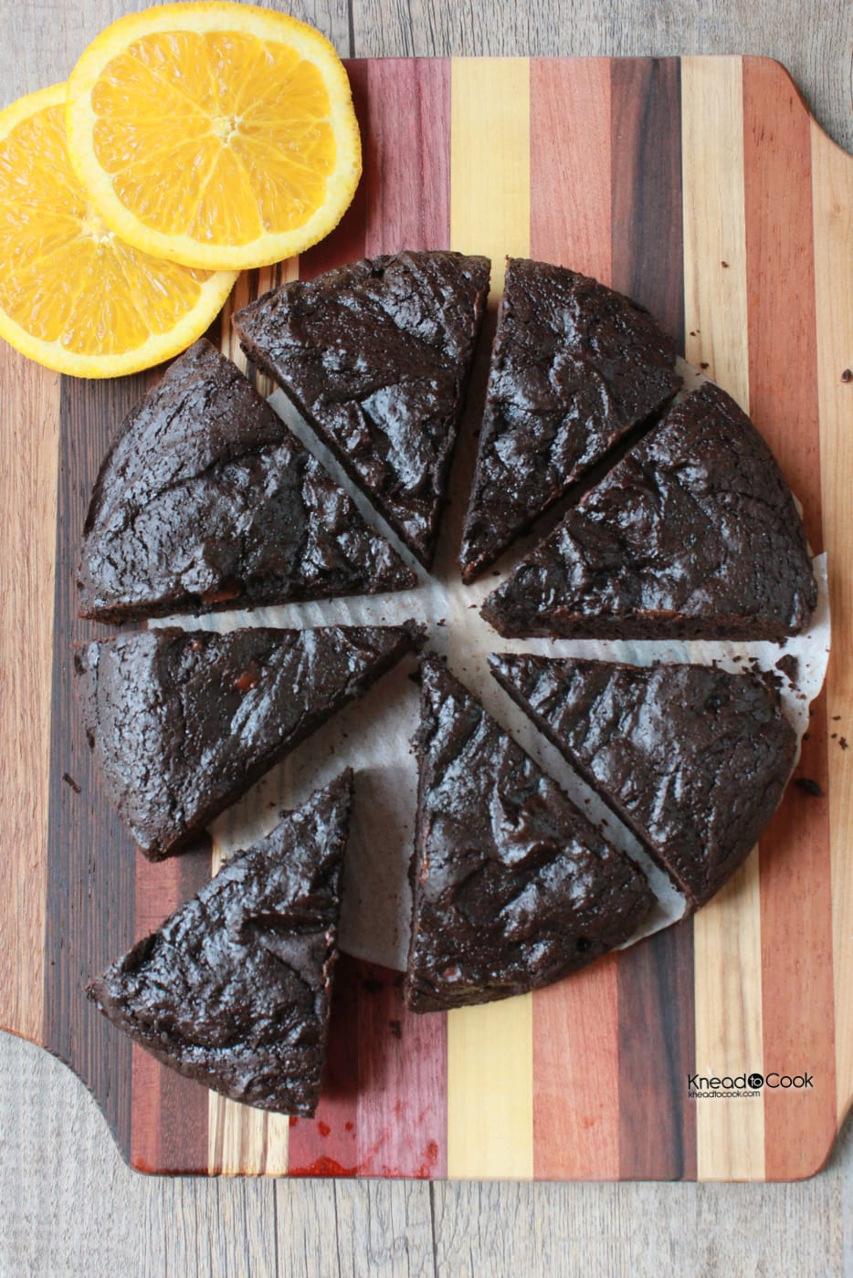 Dark Cocoa Orange Chobani Brownies