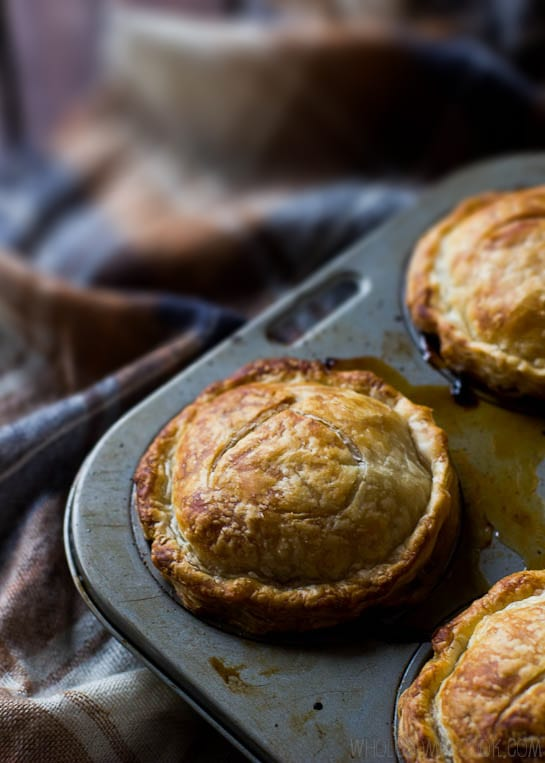 Lamb Shank and Mango Chutney Pies