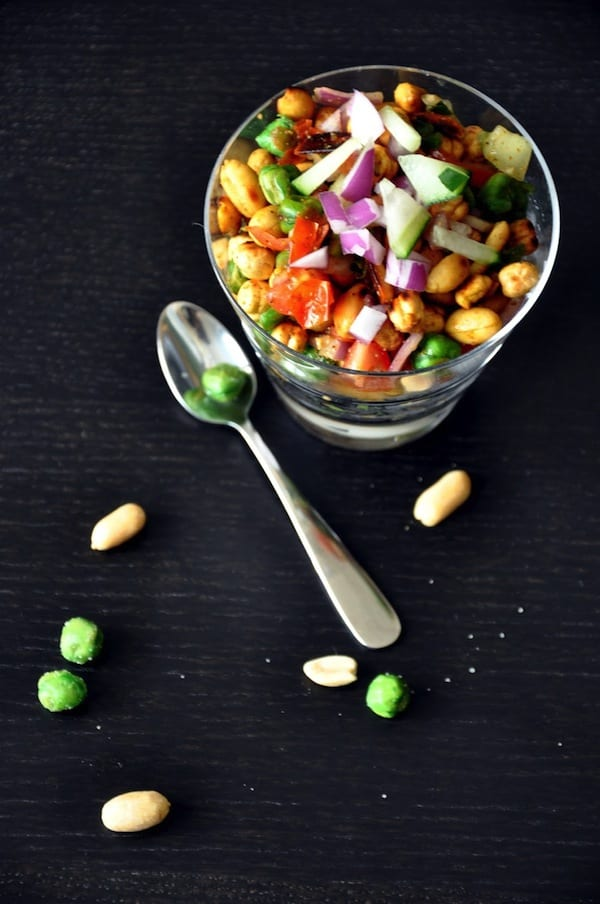 Beer Snacks Recipe Roasted Nuts Chaat