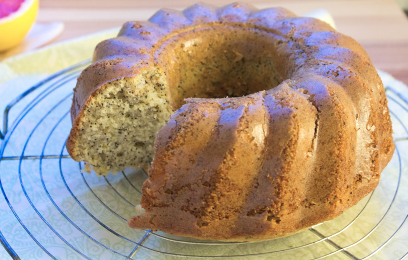Grapefruit Bundt Cake