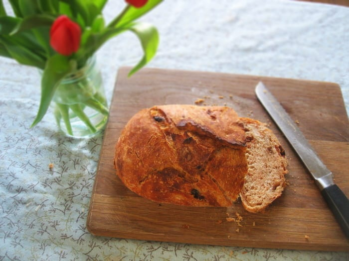 Easy Tomato and Fennel Bread