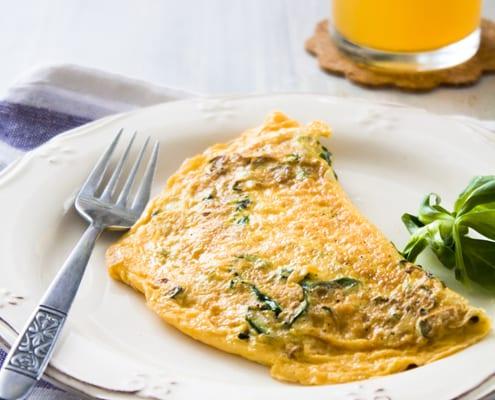 The Perfect Breakfast - Egg Omelette