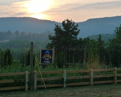 Blue Mountain Brewery - Outstanding Views, Food and Brews