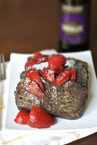 Chocolate Stout French Toast Pound Cake