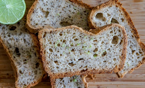 Gluten Free Coconut Lime Bread Recipe