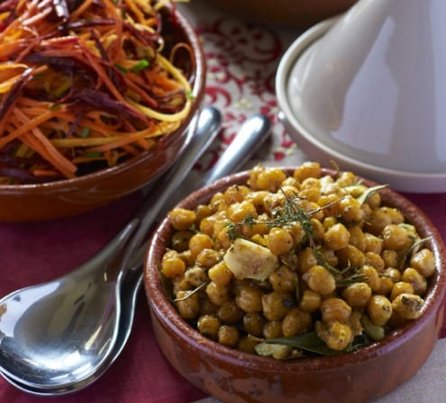 Chef Katherine Frelon Shares Her Roasted Chicpeas with Rosemary