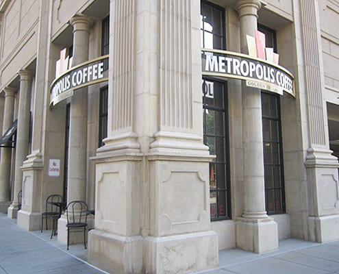Coffee House Test - Metropolis Coffee