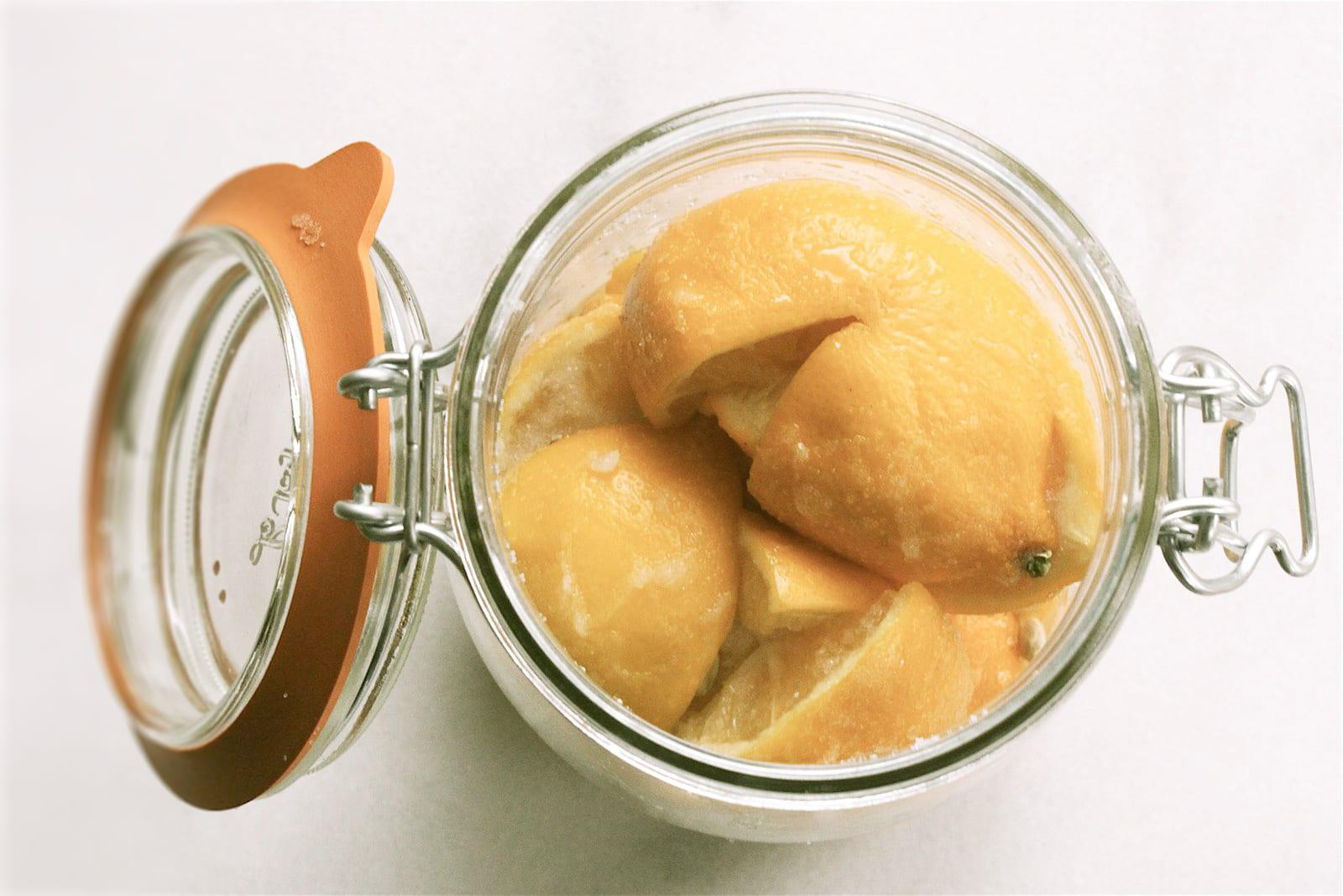 Salt Preserved Lemons