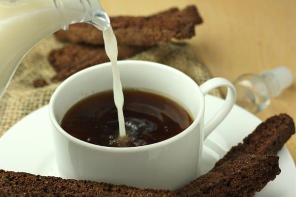 Healthy Chocolate Biscotti