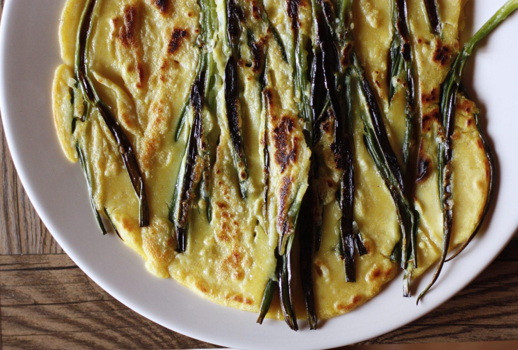 Pajeon - Spring Onion Pancake