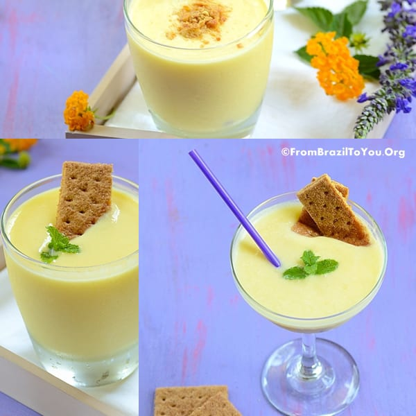 Piña Colada Cheesecake Smoothie