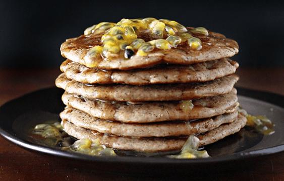 Buckwheat Oat Pancakes