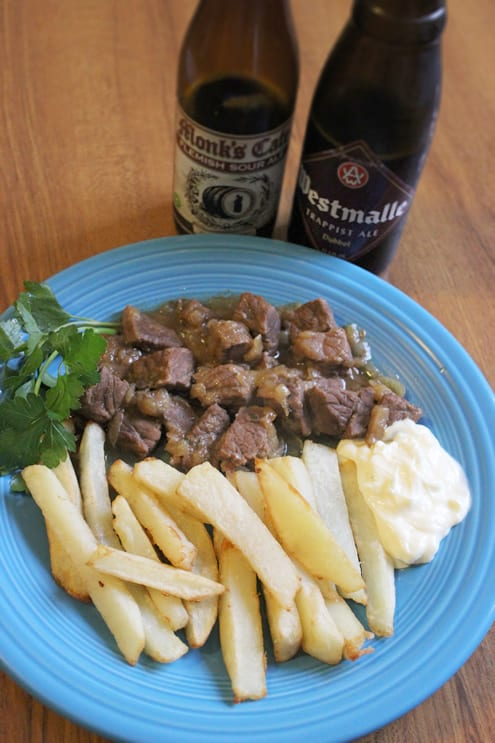Beef Meets Beer in Flemish Stoverij