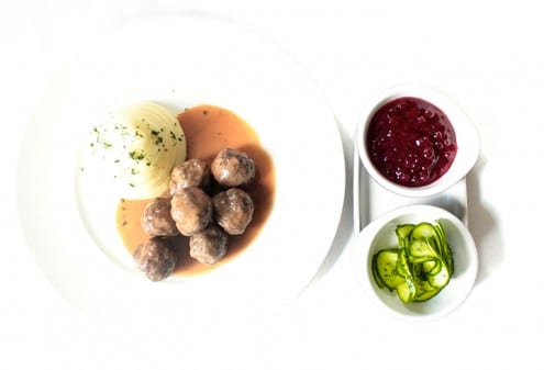 Swedish Meatballs by Chef Mathias Brogie