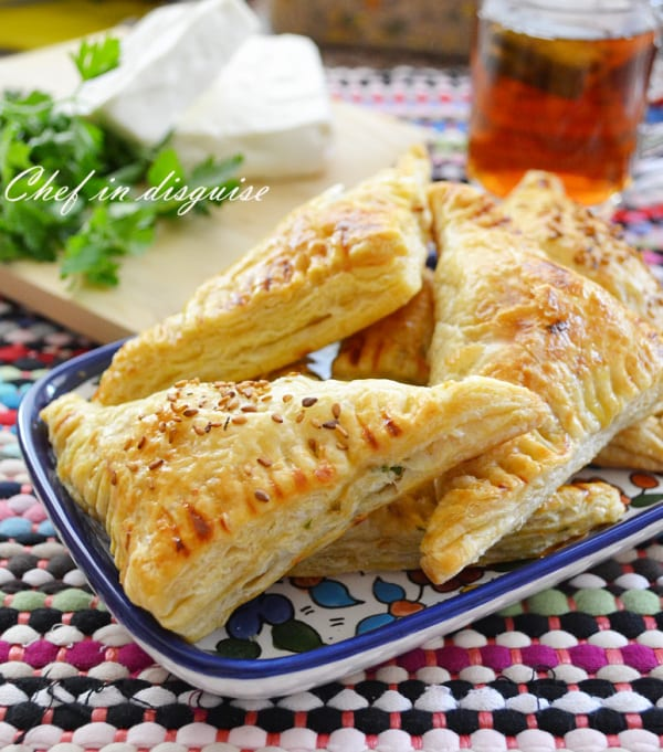 En Croute - Cheese and Herbs Turnovers