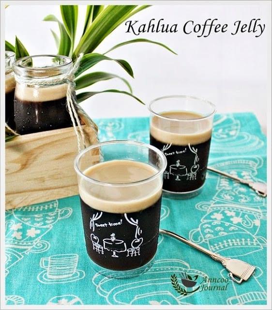 Kahlua Coffee Jelly