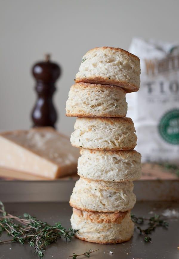 Parmesan Thyme Buttermilk Biscuits