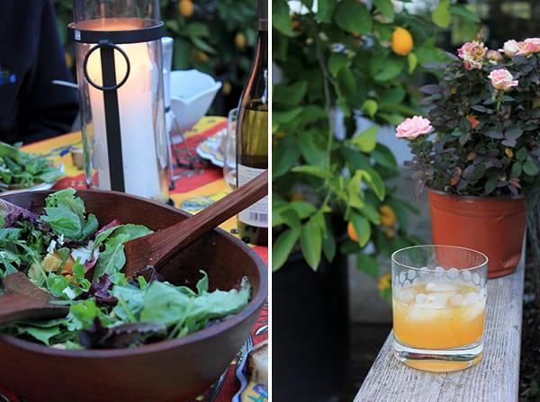 Spring Cocktail - Honey-Meyer Lemon Whiskey Sour