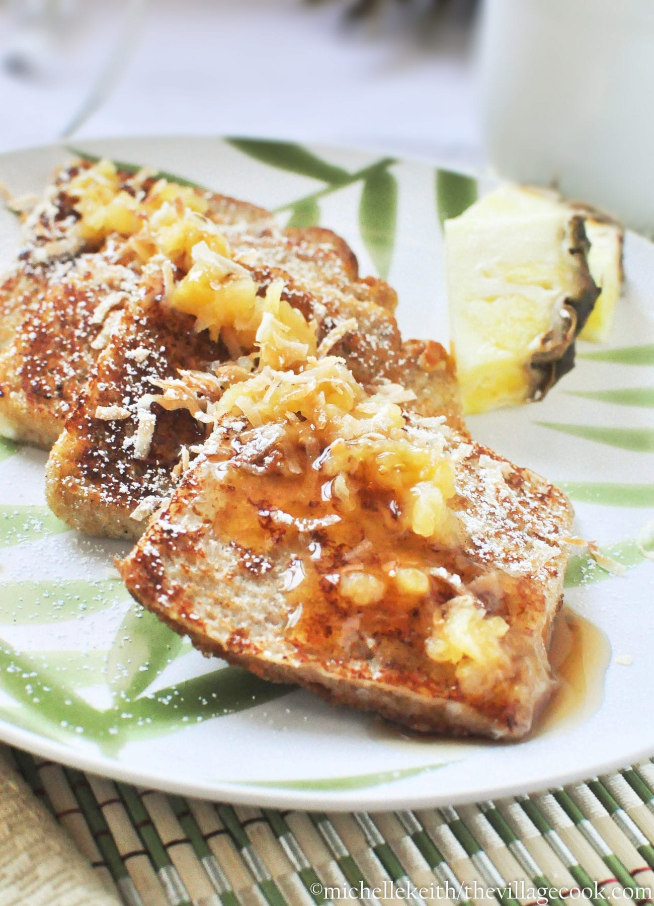 Piña Colada French Toast