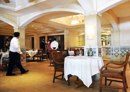 Lunch at Fontana - Biltmore Hotel Coral Gables, Florida