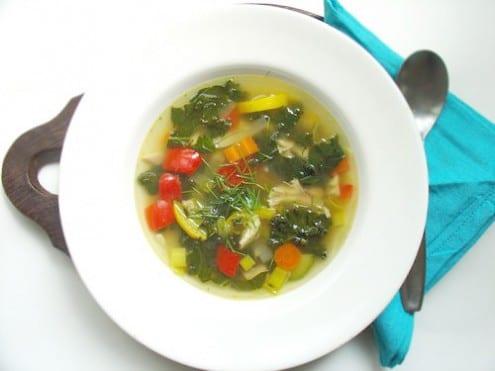 Summery Chicken Soup