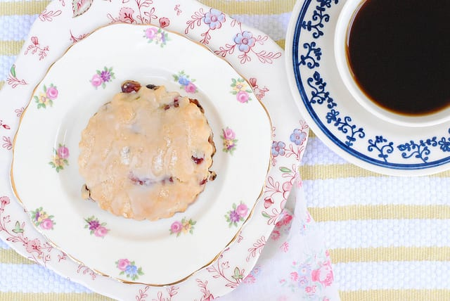 Champagne Grape Cream Scones