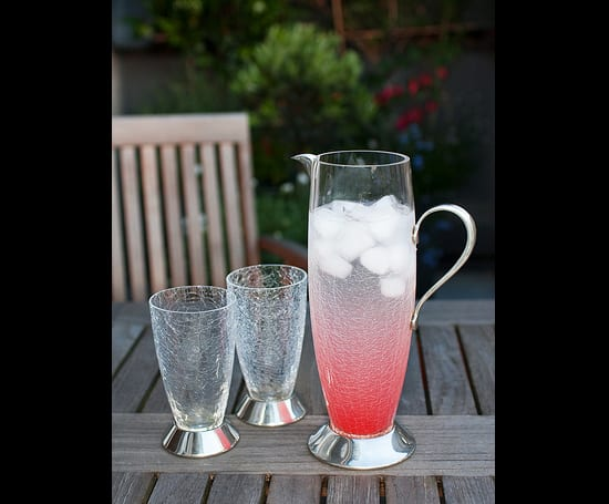 Pink Ginger Cordial Drink