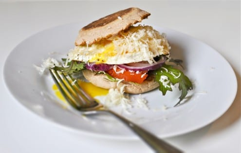 Delicious Breakfast Sandwich