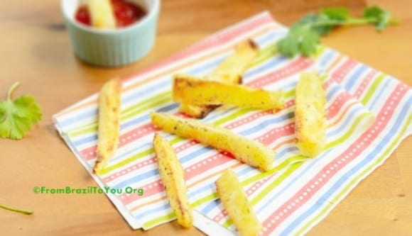Healthy Yuca Fries