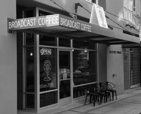 Coffee House Test - Broadcast Coffee, Seattle
