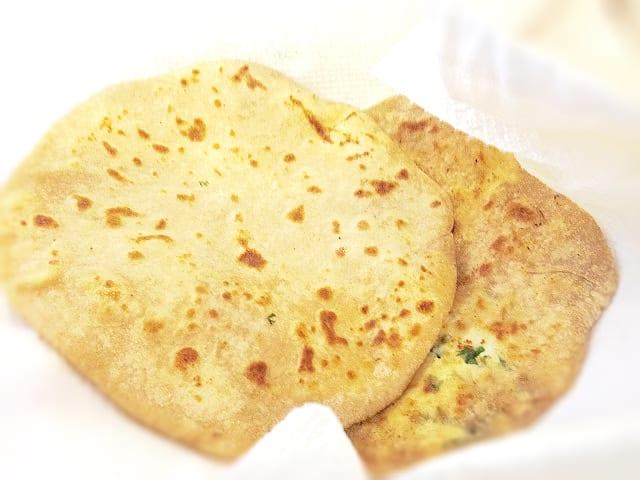 Paneer Parathas - South Asian Flatbread