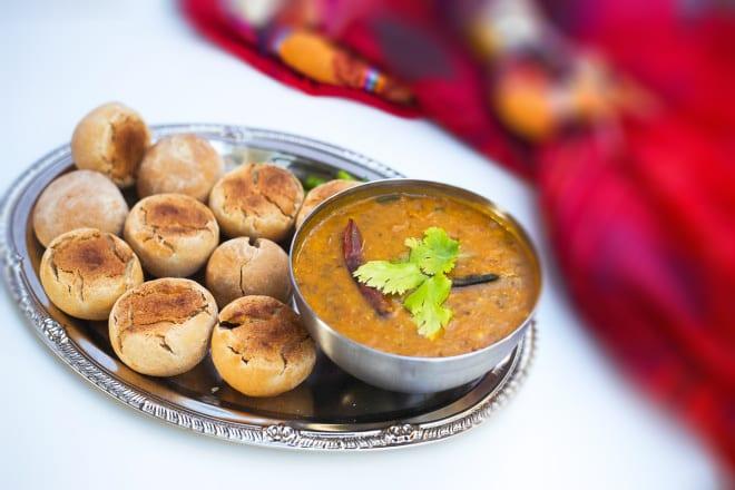 Dal Bati Churma - Lentil Soup