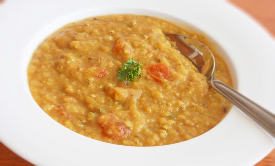 Masoor Dal - Indian Red Lentil Soup