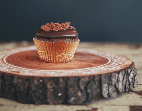 Make-ahead Mocha Devil's Food Cupcakes