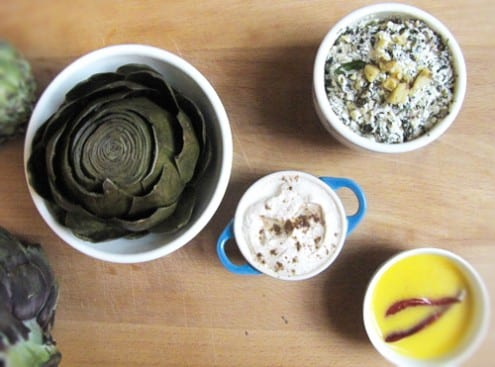 3 Delicious Dips for Artichokes