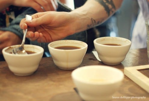 Diving into the cupping.