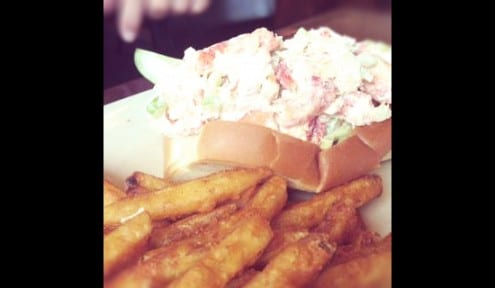 Eating in Marblehead, MA - Fried Haddock and Lobster Rolls