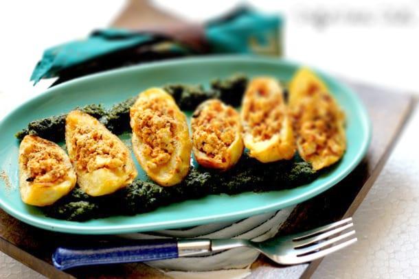 Stuffed Potato Shells