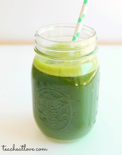 Pressed Juicery's Green Juice