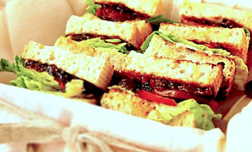 Bacon Marmalade BLT's