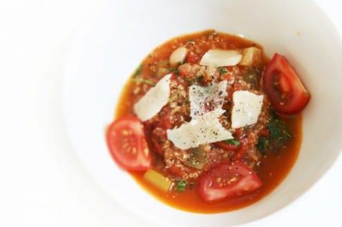 Tomato Quinoa Risotto