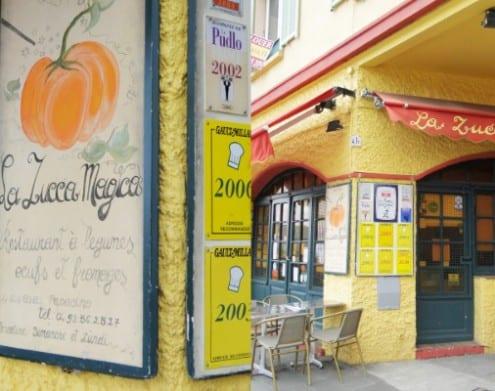 Restaurant La Zucca Magica in Nice, France